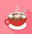 Coffee Sugar vector image vector image
