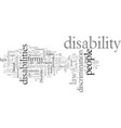 disability law firm vector image vector image
