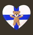 Finnish Teddy Bears vector image vector image
