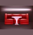 night club interior vector image vector image