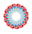 abstract wreath vector image vector image