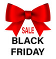 big sale black friday text for advertising vector image