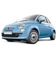 Italian city car vector image vector image