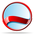 mirror badge vector image vector image