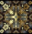 ornamental floral seamless pattern modern vector image vector image