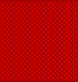 red simple repeating stylized pine tree pattern vector image vector image
