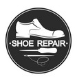 repair shoes design vector image vector image