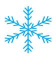 snowflake 03 vector image vector image