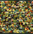 abstract triangle pattern background advertising vector image vector image