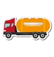 cement truck icon vector image