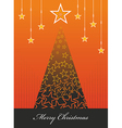 Christmas season background vector image