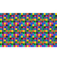 colorful square abstract background vector image vector image