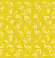 decorative thin strokes seamless yellow vector image vector image