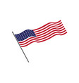 flag american icon vector image vector image