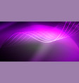 neon lines shiny glowing background vector image vector image