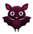 vampire bat cute cartoon character vector image vector image