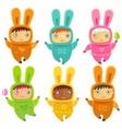 A cute little babies bunnies
