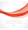 Abstract curves line background Template vector image