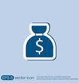 bag of money vector image