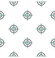 crosshair pattern flat vector image vector image