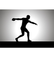 Discus Thrower vector image vector image