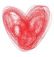 Srce sarano vector image vector image