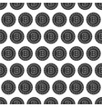 seamless pattern from bitcoin coin vector image