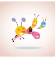 bug character vector image vector image