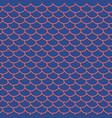 fairy mermaid tail seamless pattern vector image vector image