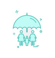 family icon design vector image vector image