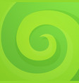 green abstract twirl background vector image vector image