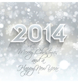 new year snowflake background 1710 vector image vector image