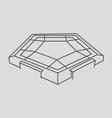 Pentagon vector image vector image