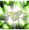 Saint Patricks Day label vector image vector image