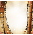 vert film background vector image vector image
