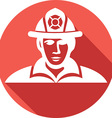 Firefighter Icon vector image