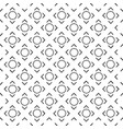 abstract circle square white pattern image vector image