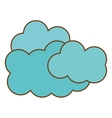 Blue clouds icon