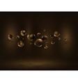 Chocolate bubble vector image vector image