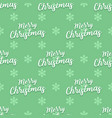 christmas words seamless pattern vector image