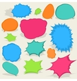 Colorful different Speech Bubbles EPS8 vector image