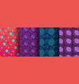 Colorful memphis seamless patterns available