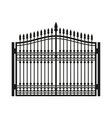 Fence Wrought Iron Gate Old Style Door
