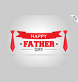 happy father day calligraphy 2018 concept design vector image vector image