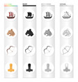 norway viking attributes and other web icon in vector image vector image