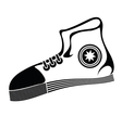runnig shoe vector image
