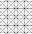 Seamless monochrome wire grid pattern design vector image vector image