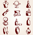 Set of cosmetics vector | Price: 1 Credit (USD $1)
