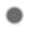 string art flower mandala sacred geometry logo