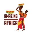 africa design woman and baby icon graphic